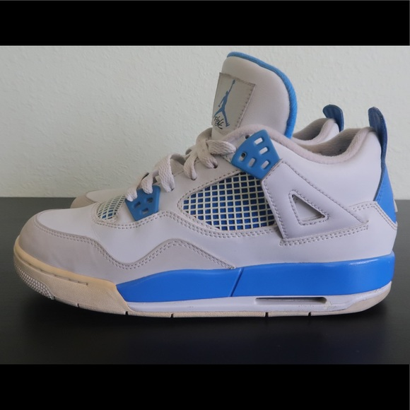 "separation shoes 52ade d6c4f Nike Air Jordan 4 ""Military Blue"""